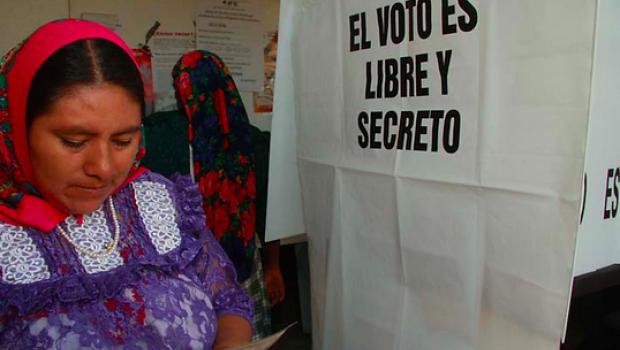 indigenas y elecciones